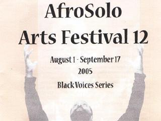 AfroSolo Arts Festival 12